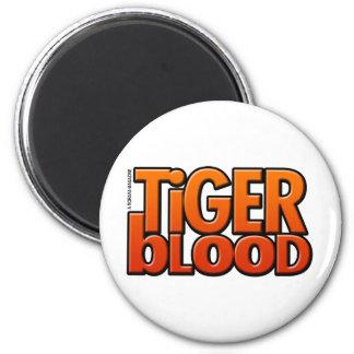 Tiger Blood Magazine 6 Cm Round Magnet