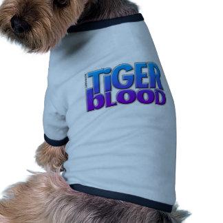 Tiger Blood Magazine Dog Tee Shirt
