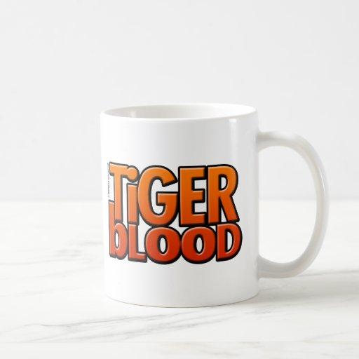 Tiger Blood Magazine Mug