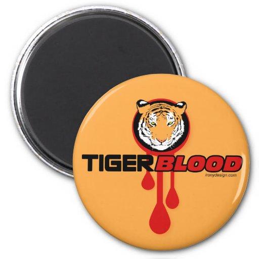 Tiger Blood Refrigerator Magnet