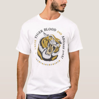 TIGER BLOOD SHIRT