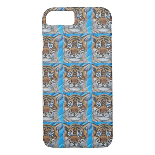 Tiger Blue iPhone 8/7 Case