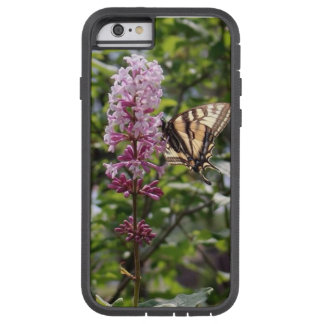 Tiger butterfly, lilac tough xtreme iPhone 6 case