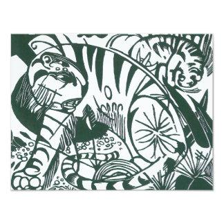 Tiger by Franz Marc, Vintage Expressionism Art Custom Invite