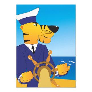 Tiger Captain Invitations