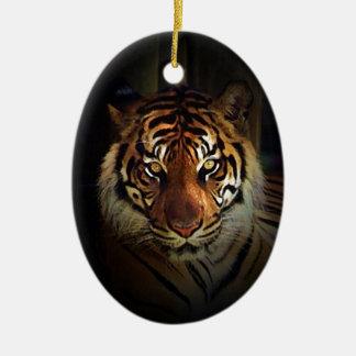 Tiger Ceramic Ornament