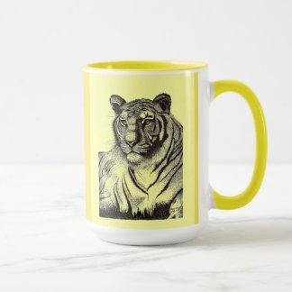 Tiger Combo Mug in Yellow