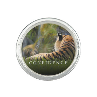 Tiger Confidence Quote Personalized