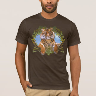 Tiger Crest Endangered Species T-Shirt