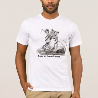 tiger cub at play T-Shirt