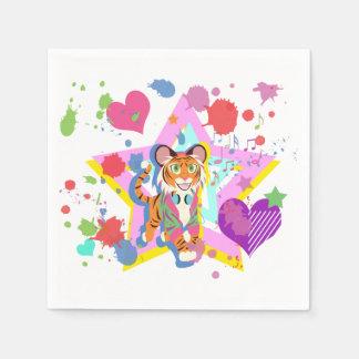 Tiger Cub Disposable Napkin