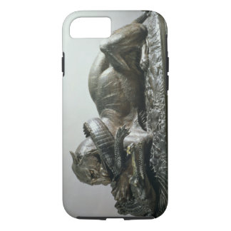 Tiger devouring an alligator, 1832 (bronze) iPhone 7 case