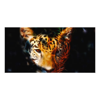 Tiger emerging picture card
