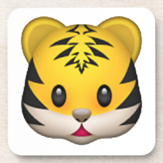 Tiger - Emoji Beverage Coaster