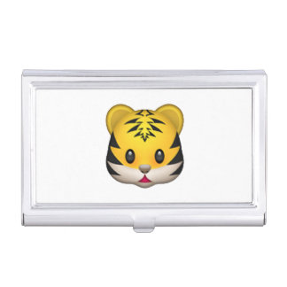 Tiger - Emoji Business Card Holder
