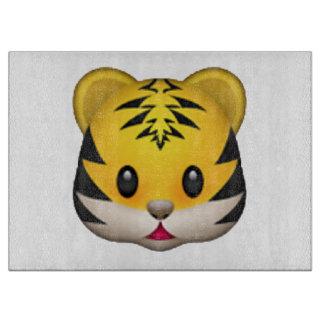 Tiger - Emoji Cutting Board