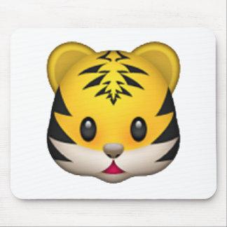 Tiger - Emoji Mouse Pad