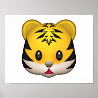Tiger - Emoji Poster