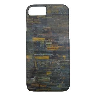 tiger eye stone phone case