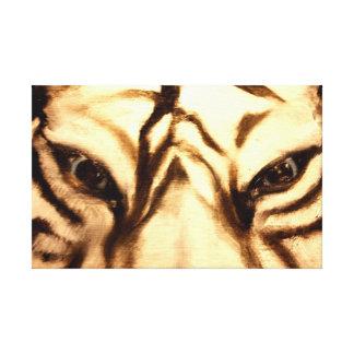 Tiger Eyes Gallery Wrap Canvas