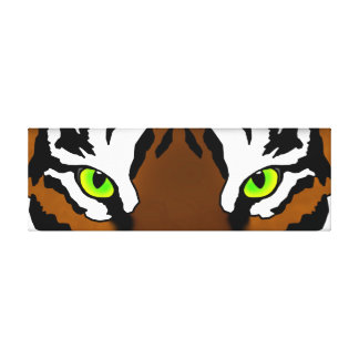 Tiger Eyes Gallery Wrapped Canvas