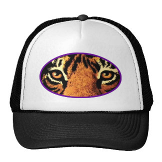 Tiger Eyes Purple The MUSEUM Zazzle Gifts Mesh Hats
