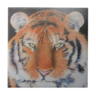 Tiger Eyes Small Square Tile