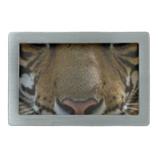 Tiger Face Close Up Belt Buckles