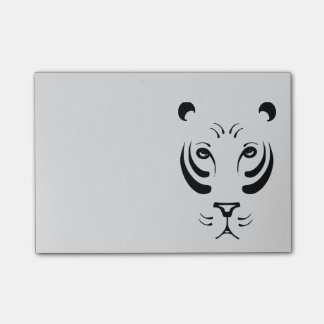 Tiger Face Post-it Notes