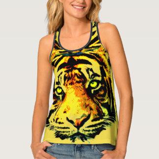 Tiger face singlet