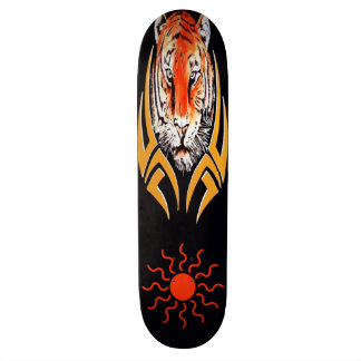 Tiger face skateboard