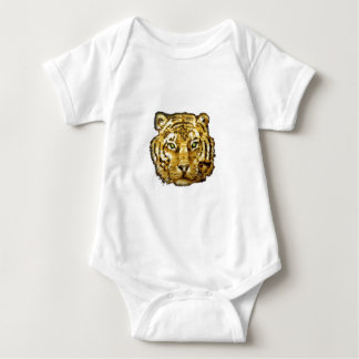 tiger face wood transparent.png baby bodysuit