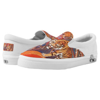 Tiger Feet! Slip On Shoes