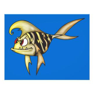 Tiger Fish 21.5 Cm X 28 Cm Flyer