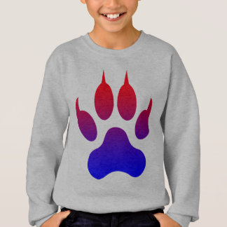Tiger Foot Print kids sweatshirt