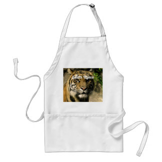 Tiger from South Korea Apron