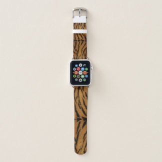 Tiger Fur Apple Watch Band