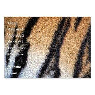 Tiger fur close up photo pack of chubby business cards