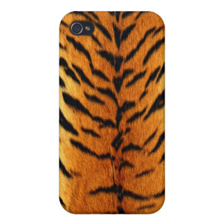 """Tiger """"Fur"""" Stylish Trendy Chic iPhone4 SpeckCase iPhone 4 Cover"""