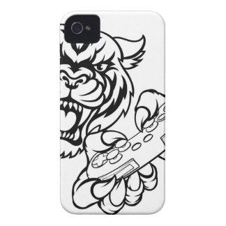 Tiger Gamer Mascot Case-Mate iPhone 4 Case