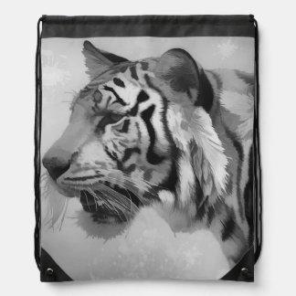 Tiger - Ghostly 2 Drawstring Bag