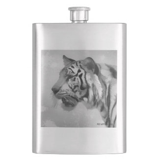 Tiger - Ghostly 2 Hip Flask