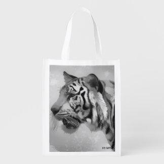 Tiger - Ghostly 2 Reusable Grocery Bag