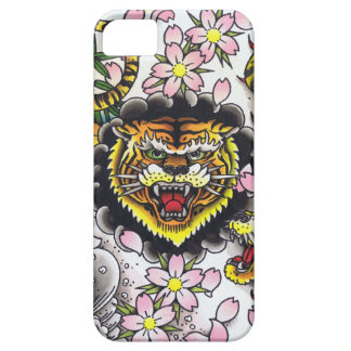 Tiger Head Barely There iPhone 5 Case