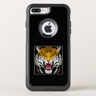 Tiger Head OtterBox Commuter iPhone 8 Plus/7 Plus Case