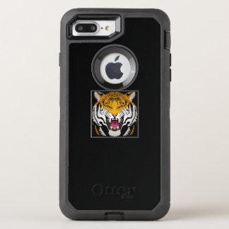 Tiger Head OtterBox Defender iPhone 8 Plus/7 Plus Case
