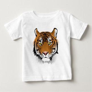 Tiger Head Print Design Baby T-Shirt