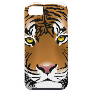 Tiger Head Print Design iPhone 5 Cover