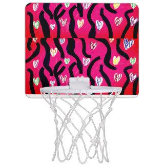 Tiger heart mini basketball hoop