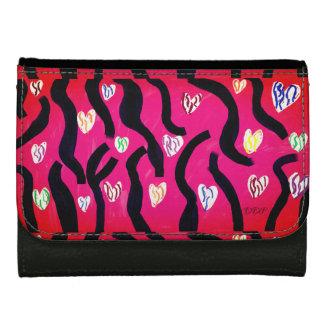 Tiger heart wallet for women